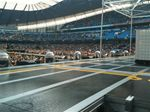The stadium fills for Take That